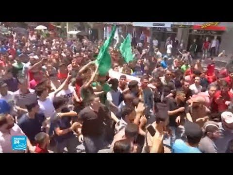 شاهدتشييع عنصرين من كتائب القسام