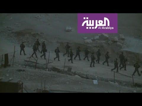 قوات الاحتلال تداهم تجمع الخان الأحمر و تهدم عدد من البيوت المتنقلة
