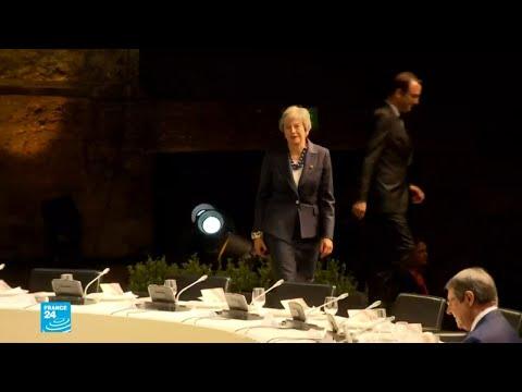 شاهد انطلاق المرحلة الأخيرة من مفاوضات بريكسيت بين الأوروبيين وبريطانيا