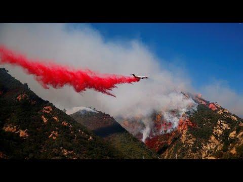 شاهد  ارتفاع عدد ضحايا حرائق كاليفورنيا إلى 31 شخصًا