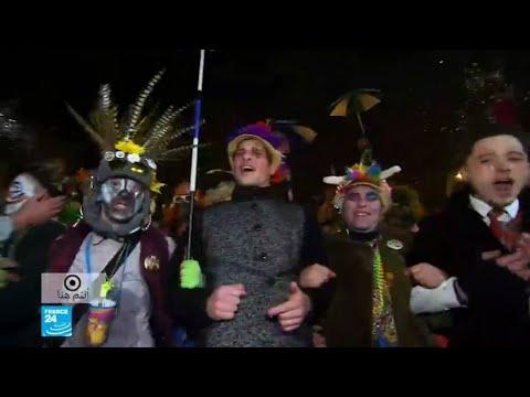 بُدناء فرنسا يتجمعون في مهرجان الرقص والأكل
