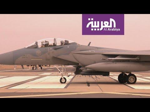 شاهد استعدادات القوات الجوية السعودية المشاركة في تمرين العلم الأحمر