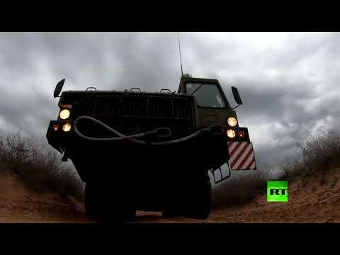 شاهد عملية إطلاق صواريخ منظومة اس300 الروسية