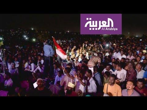 شاهد محجتو السودان يرفضون الحوار مع المجلس العسكري