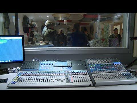 شاهد افتتاح استوديو لافاز بالرباط لدعم المواهب الفنية الشابة