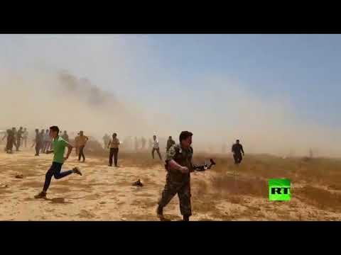 شاهد لحظة تفجير استهدف قيادات الجيش الليبي في بنغازي