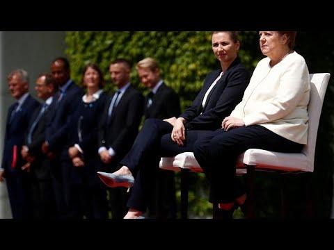 شاهد استطلاع رأي في ألمانيا حول صحة أنجيلا ميركل