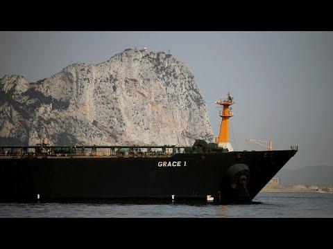 الناقلة الإيرانية غريس 1 بدأت تتحرك من مياه جبل طارق