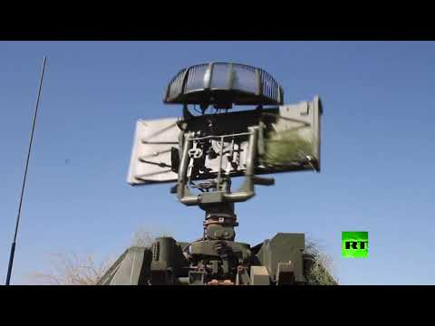 شاهد منظومة إس300 تعترض صواريخ العدو المفترض