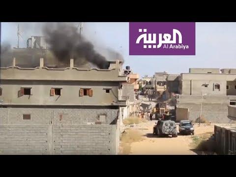 هجوم للجيش الليبي على مواقع تابعة لحكومة الوفاق في سرت