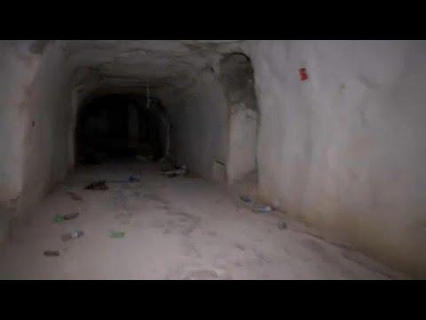 العثور على أنفاق مجهزة كـقلاع بالقرب من خان شيخون