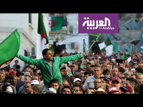 شاهد صراع بين مقاطعي الانتخابات الجزائر ومؤيديها