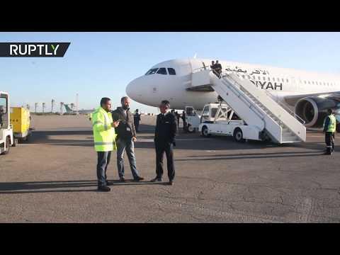 شاهد إعادة افتتاح مطار معيتيقة الدولي في العاصمة الليبية طرابلس