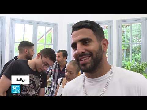 الجزائري رياض محرز يتوج بجائزة أفضل لاعب مغاربي