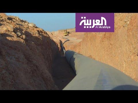 شاهد مشروع مائي فوري لسكان المهرة اليمنية من البرنامج السعودي لتنمية اليمن
