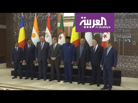 شاهد دول الجوار الليبي يتفقون على رفض التدخل الأجنبي في ليبيا