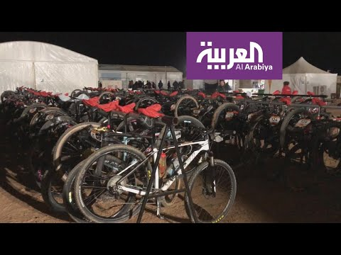 150 درّاج عالمي يعيشون تجربة الضيافة السعودية في الصحراء