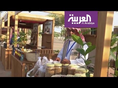 أهالي جازان يستعرضون ثقافة إعداد وتحميص البن أمام زوار الشارع الثقافي