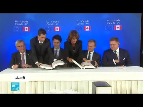 لندن تريد اتفاقًا تجاريًا على غرار الاتفاق الذي عقدته بروكسل مع كندا