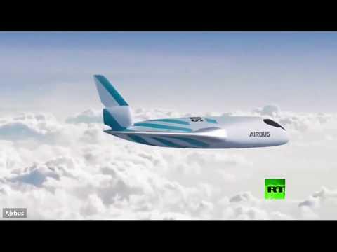 شاهد آيرباص تستعرض طائرة المستقبل
