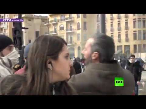 الاعتداء على صحافية لبنانية في ساحة الشهداء في بيروت