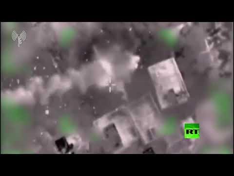 جيش الاحتلال ينشر فيديو يوثق استهداف مواقع الجهاد الإسلامي
