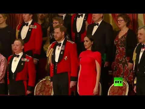 شاهد الأمير هاري في آخر مهامه الرسمية