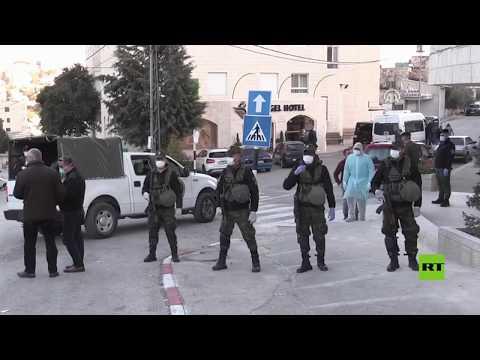 شاهد الوفد الأمريكي يغادر بيت لحم متوجها إلى الولايات المتحدة عبر إسرائيل