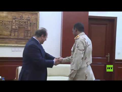 شاهد رئيس مجلس السيادة السوداني يلتقي مدير جهاز المخابرات المصري