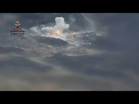 شاهد لعمليات استهداف نوعية نفذتها قوات الجيش في اليمن