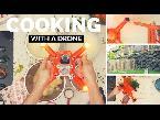 اليمن اليوم- بالفيديو  طائرة دون طيّار درون تطهو الطعام