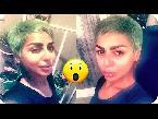اليمن اليوم- شاهد هند البلوشي تصدم الجميع وتصبغ شعرها بلون أخضر