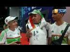 شاهد أنصار المنتخب الجزائري ينتظرون وصوله مطار القاهرة